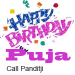 happy Birthday Puja path